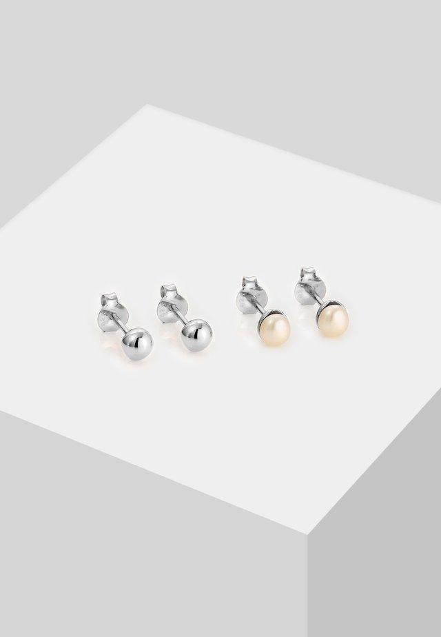 SET - Oorbellen - silver-coloured