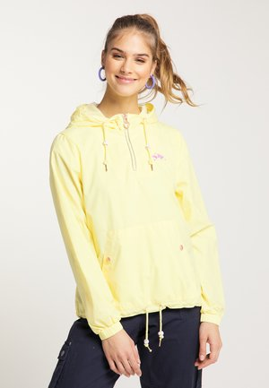 Veste coupe-vent - light yellow