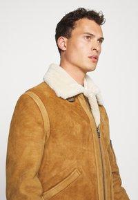 Serge Pariente - KENNEDY - Leather jacket - camel - 3
