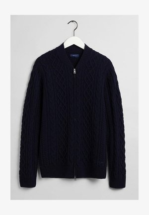 Cardigan - evening blue