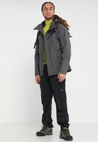 Vaude - ROSEMOOR JACKET - Waterproof jacket - iron - 1