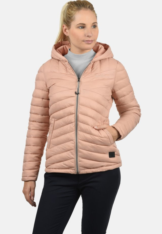 QUELLA - Winterjas - light pink/nude