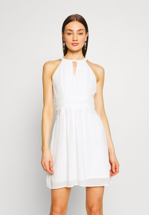 VIMILINA HALTERNECK DRESS - Cocktailklänning - cloud dancer