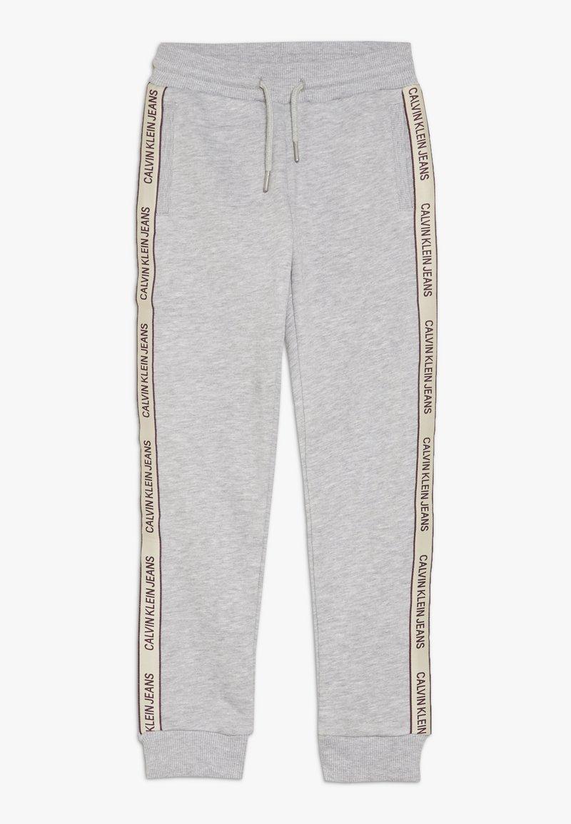 Calvin Klein Jeans - SIDE LOGO TAPE - Joggebukse - grey