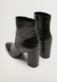 Mango - CALEO - Classic ankle boots - schwarz - 2