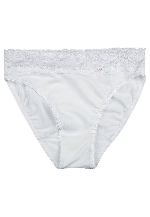 PLUS DENTELLE - Briefs - blanc