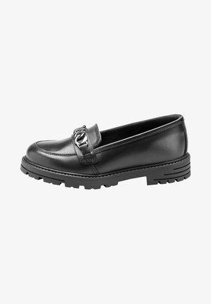 Slip-ons - mottled black