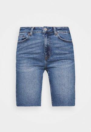 ONLERICA LIFE - Szorty jeansowe - dark blue denim