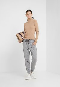 FTC Cashmere - ROLLNECK - Strickpullover - almond - 1