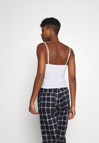 Hollister Co. - STRAIGHT ACROSS 3 PACK - Top - white/red/black - 3
