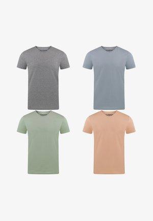 RIVARON 4 PACK - Basic T-shirt - farbmix