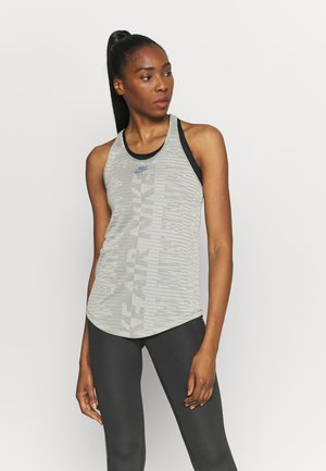 AIR TANK - Sports shirt - light army/stone/black