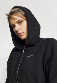 Nike Performance - DRY GET FIT  - Zip-up hoodie - black/white - 4