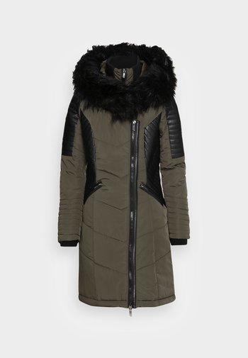 ONLLINETTE HOOD COAT - Cappotto invernale - peat