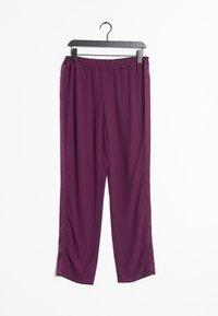 SET - Tracksuit bottoms - purple - 0