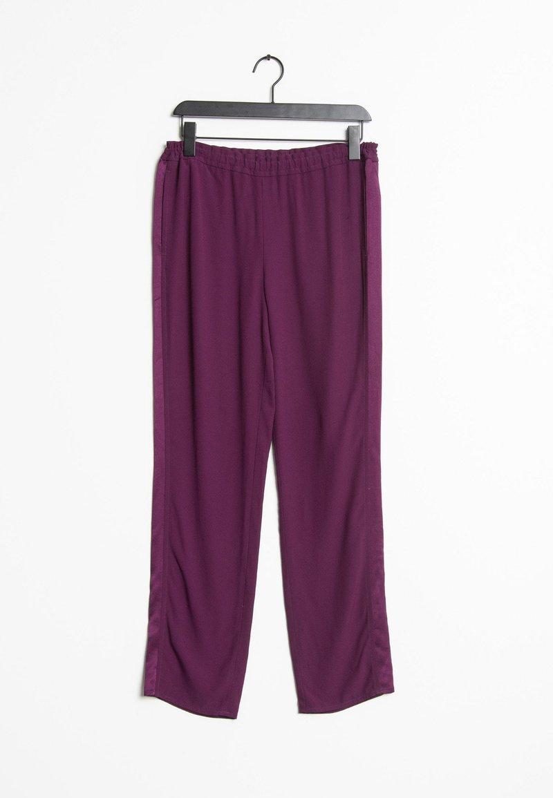 SET - Tracksuit bottoms - purple