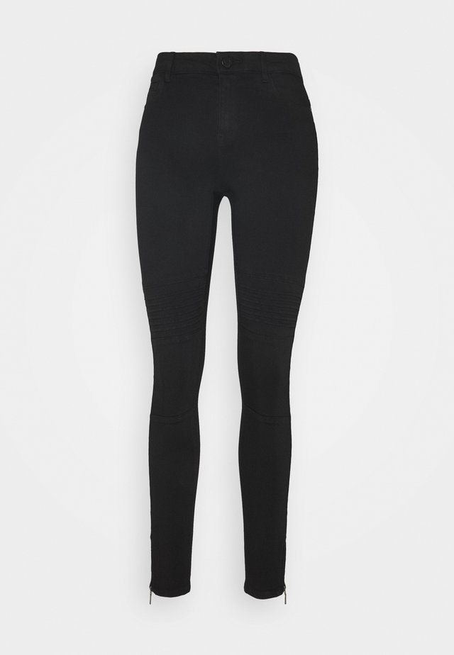 NMKIMMY SKINNY BIKER  - Jeans Skinny - black