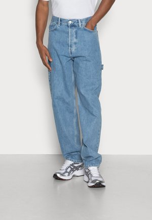 UNION WORKER - Relaxed fit jeans - sky blue
