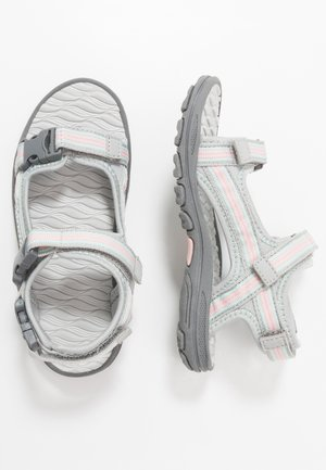 RUSHEEN - Walking sandals - light grey/rosé