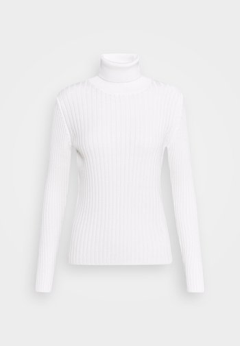LONGSLEEVE TURTLE NECK STRUCTURE - Svetr - off white