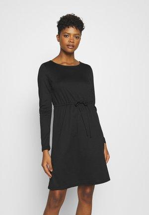 VIJUNER DRESS   - Trikoomekko - black