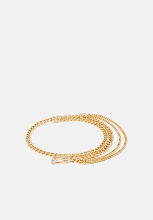 PCLULU WAISTBELT - Waist belt - gold-coloured
