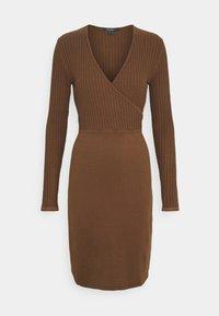 Esprit Collection - DRESS - Pouzdrové šaty - toffee - 0