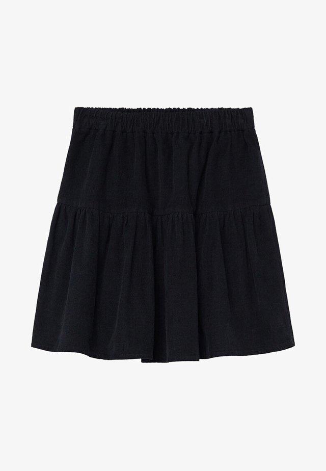 PANITA - A-lijn rok - zwart