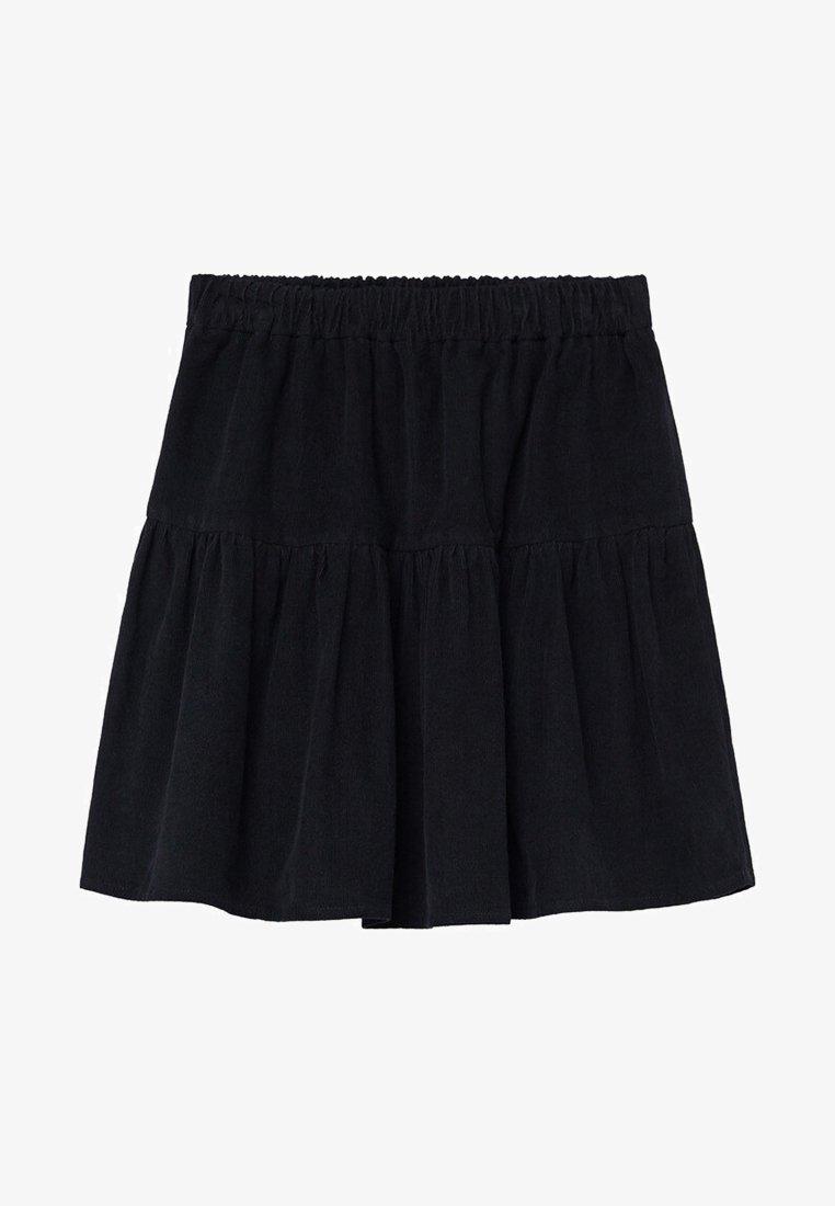 Mango - PANITA - Áčková sukně - zwart