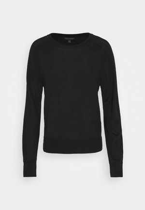 CREW SOLIDS - Jumper - black