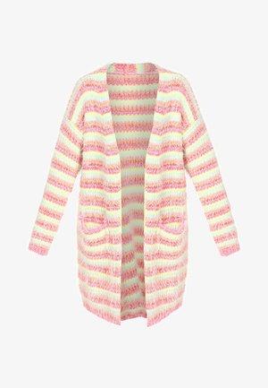 Cardigan - pink striped