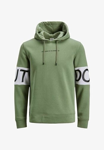 JCOVICTORIOUS - Hoodie - oil green