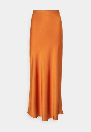 SKIRT - Maxi skirt - rust