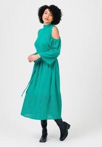 Solai - Jumper dress - ultramarine green - 1