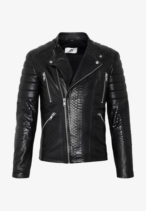 GLADATORPYTON - Leren jas - black