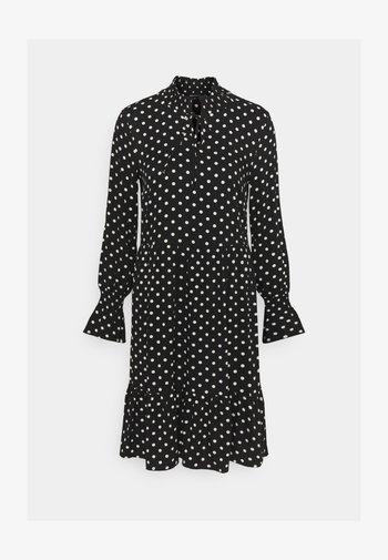 DRESS SHORT - Day dress - black