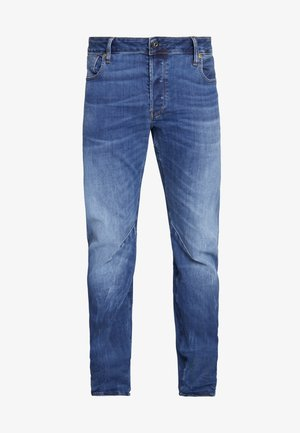 ARC 3D SLIM - Slim fit jeans - accel stretch - dk aged