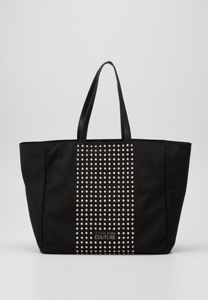SHOPPING BAG STUDDED - Tote bag - nero