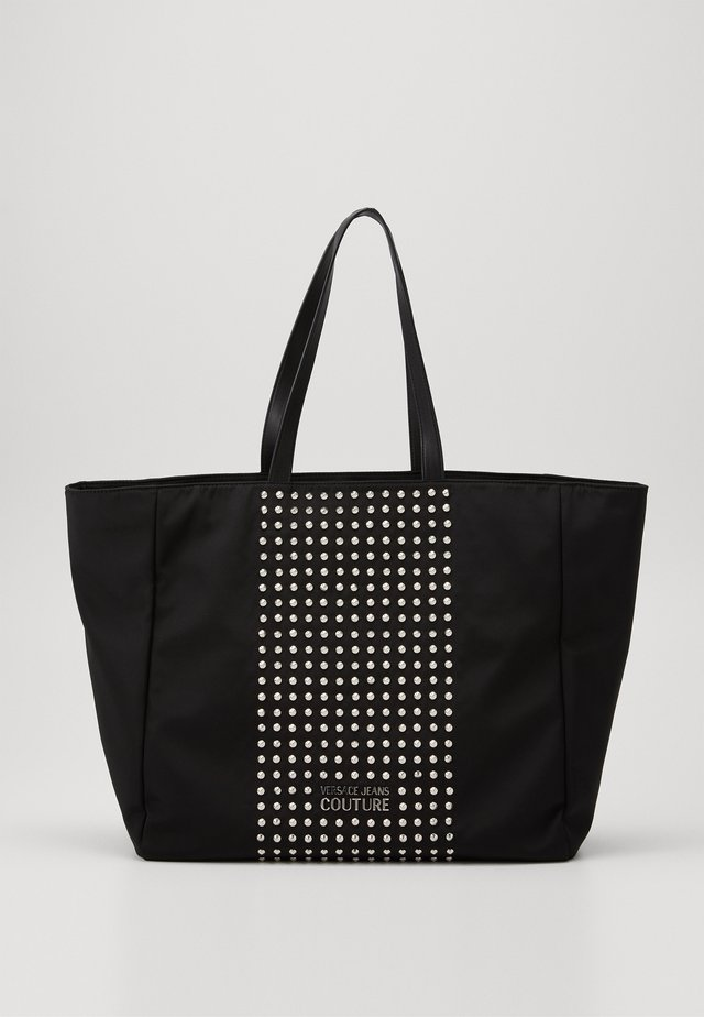 SHOPPING BAG STUDDED - Shopping bag - nero