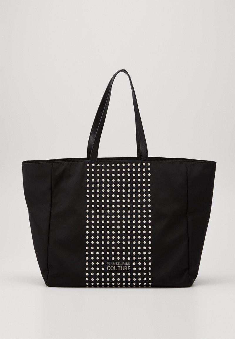 Versace Jeans Couture - SHOPPING BAG STUDDED - Velká kabelka - nero