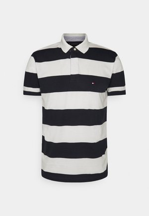 RUGBY STRIPE REGULAR - Polo shirt - desert sky/ivory