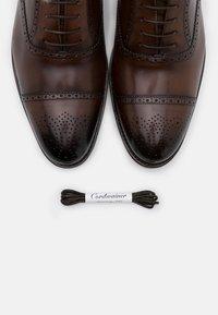 Cordwainer - MICHAEL - Smart lace-ups - elba espresso - 5