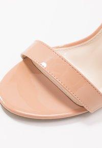 Glamorous Wide Fit - Sandály na vysokém podpatku - beige - 2