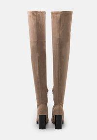 Even&Odd - High heeled boots - beige - 3