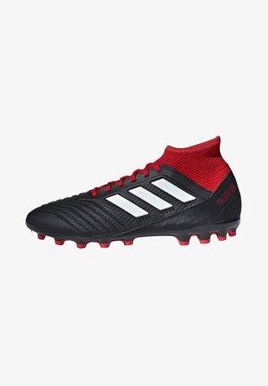PREDATOR - Fotballsko - black/white/red