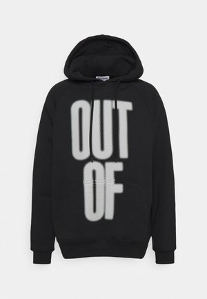 RACING OUT OF THE BLUE UNISEX - Hoodie - black