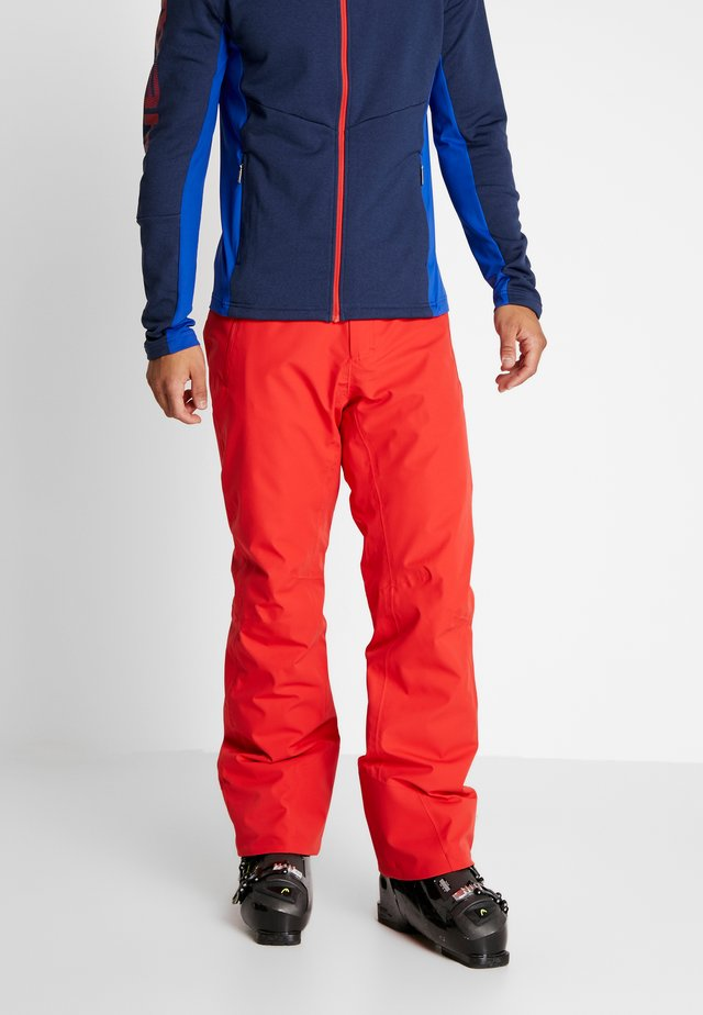 SUMMIT PANTS - Pantaloni da neve - red