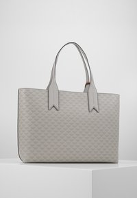 Emporio Armani - SOFT LOGO SHOPPER - Tote bag - grigio/blue - 2