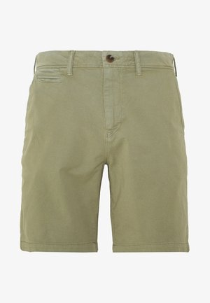 Shorts - washed olive