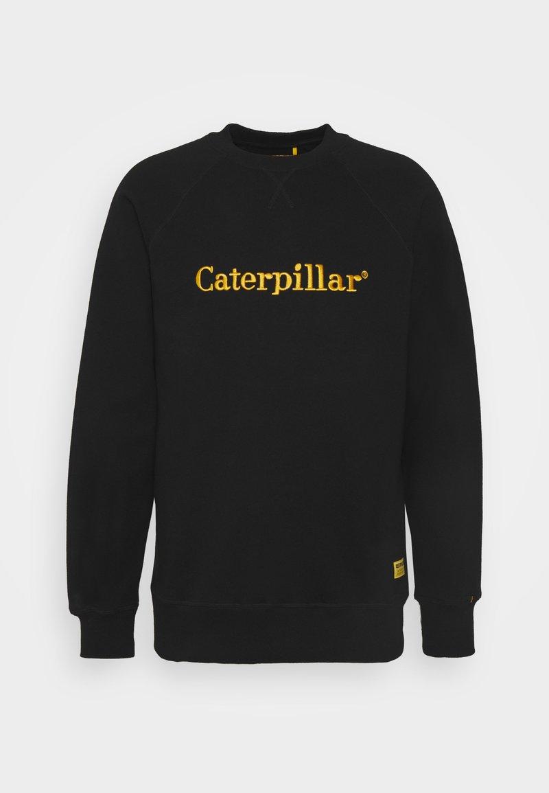 Caterpillar - ROUNDNECK - Sweatshirt - black